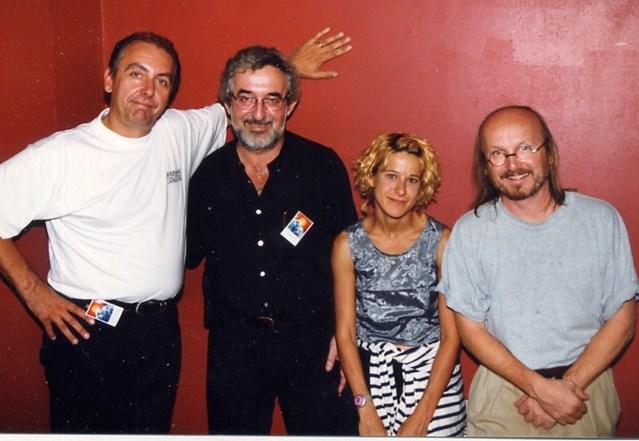 1999, 2ème Déferlantes Francophones à Capbreton. Entre Acadie et Québec avec Ronald Bourgeois, Marie-Jo Thério et Jim Corcorran