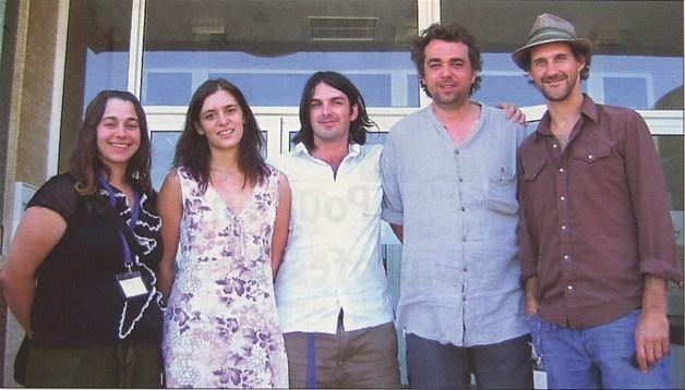 2006, Déferlantes. Tremplin de la relève avec Suzanne Legère, Alexandra Hernandez, Damien Robitaille, Guy-Philippe Wells et Joseph Edgar