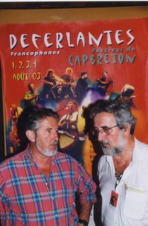 Déferlantes 2003 : avec le député-maire Jean-Pierre Dufau