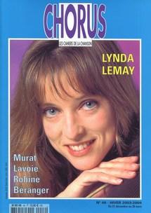Décembre 2003 : dossiers sur Lynda Lemay, François Béranger et l'ami Marc Robine