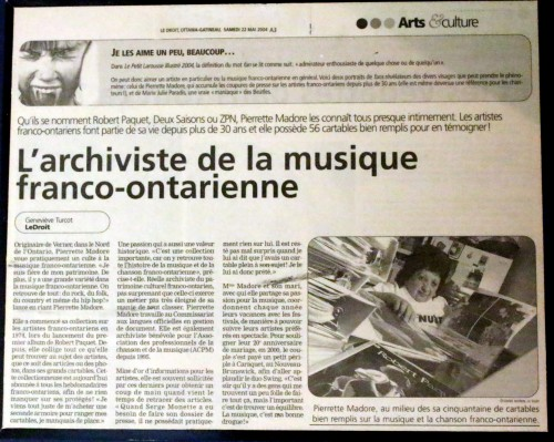 MADORE ARTICLE