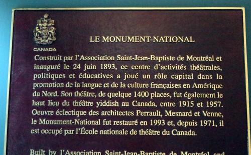 PF GRANBY MONUMENT PANNEAU