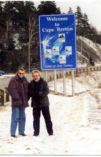 PF FF MAURICE  CB SEGALL CAP BRETON FEVRIER 2000