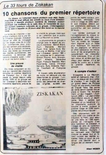 FB ZISKAKAN 33 TOURS
