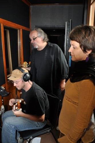 Simon Proulx, Philippe Noireaut et Myreille Bédard