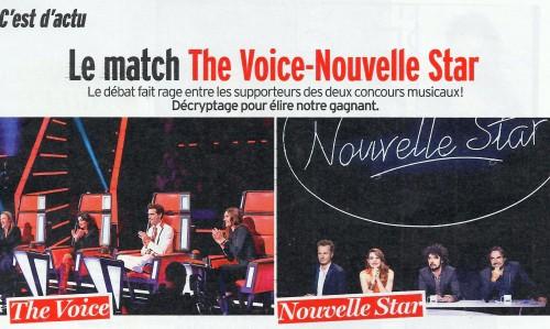 VOICE NOUVELLE STAR