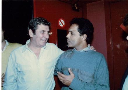 Avec Becaud Olympia 1991