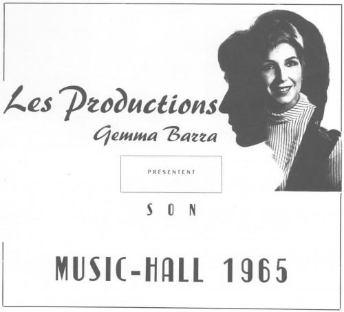 Une artiste s'autoproduit en 1965