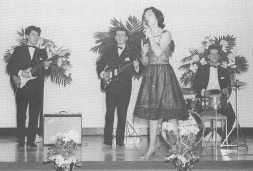 sur scène dans les années 1960