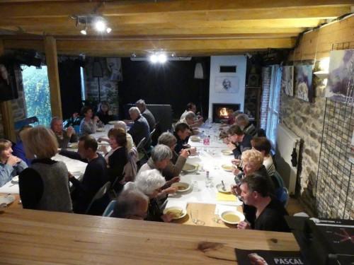 Tradition Arthé Café la soupe avant la 3ème mi-temps H