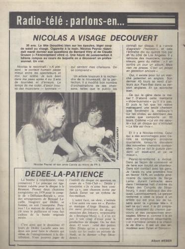 ALBERT PEYRAC QUOTIDIEN DE LA RÉUNION FÉVRIER 1981 scan